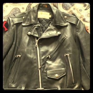 Other - 1970's Vintage Leather Motorcycle Jacket.